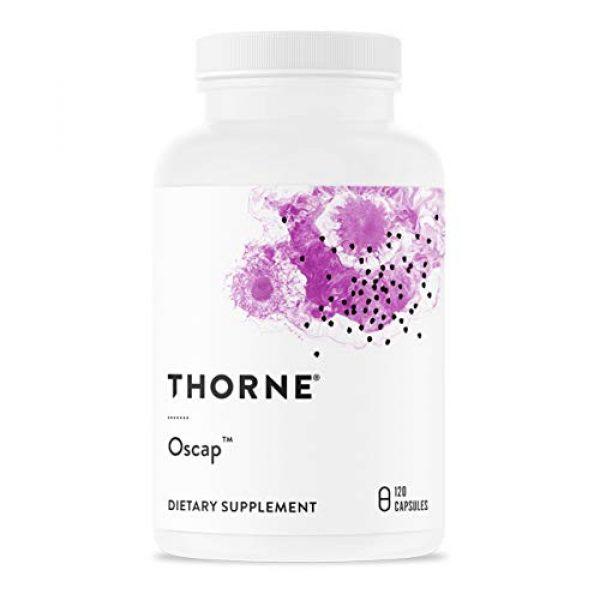 Thorne Research Calcium Supplement 1 Thorne Research - Oscap - Bone Health Supplement with Calcium and Vitamin D - 120 Capsules