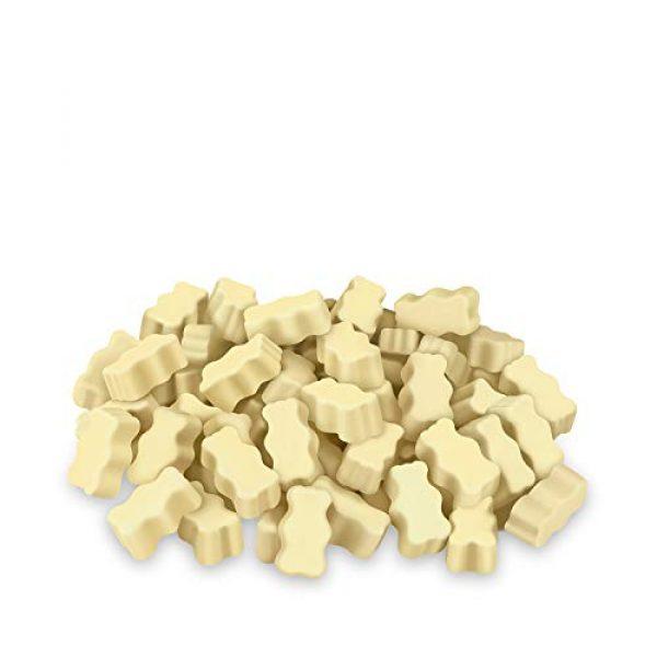 VitaWorks Calcium Supplement 2 VitaWorks Calcium for Kids Chocolate Vitamin Chew - GMO-Free - Great Tasting White Chocolate Flavored Treat w/ 600mg Calcium & 800IU Vitamin D - Kids Calcium Supplement - 60 Count [30 Doses]