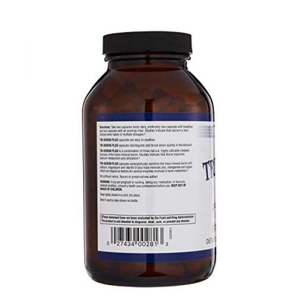 Twinlab Calcium Supplement 3 TwinLab Tri-Boron Plus, Magnesium, Vitamin D, Calcium, Dietary Supplements, 3mg, 240 Capsules, Healthy Bones