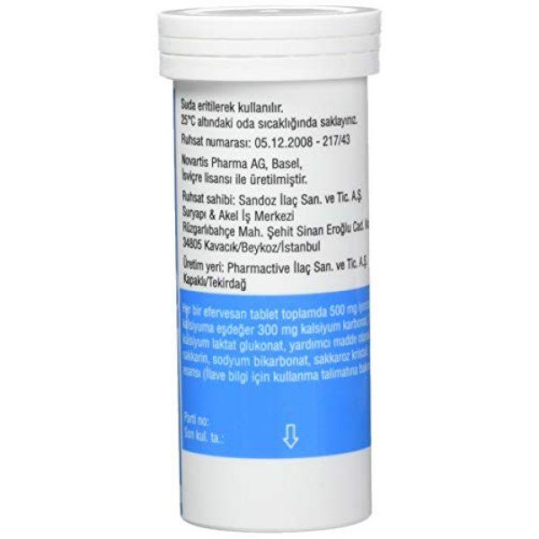 Novartis Calcium Supplement 2 Calcium Sandoz Effervescent Tablets 20 tablets by Novartis