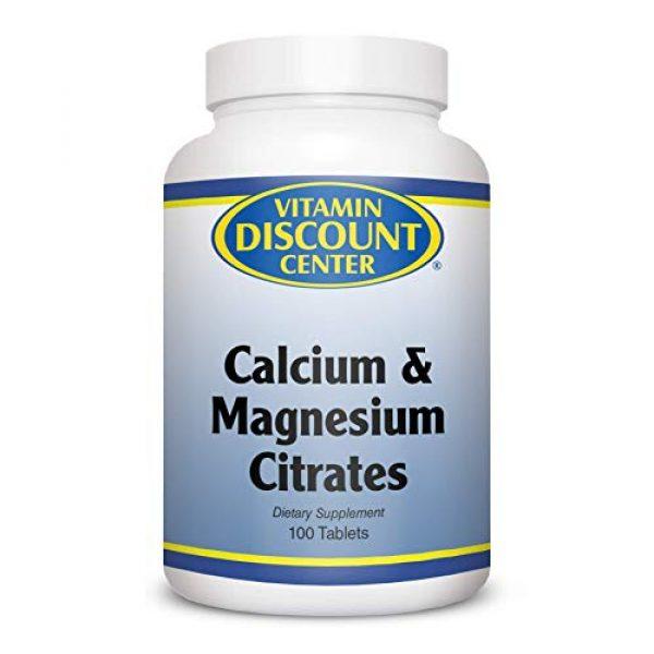 Vitamin Discount Center Calcium Supplement 1 Vitamin Discount Center Calcium Magnesium Citrate, 100 Tablets