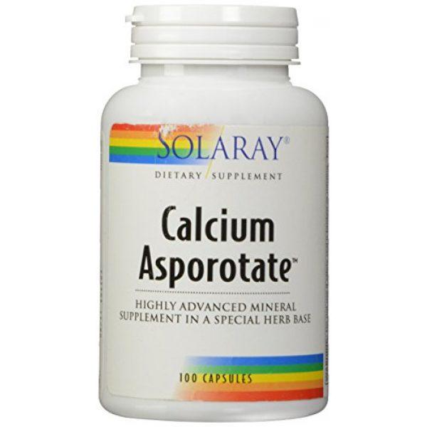 Solaray Calcium Supplement 1 Solaray Calcium Asporotate, Capsule (Btl-Plastic) 800mg   100ct