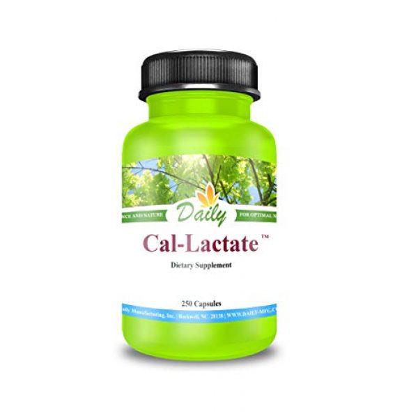 Daily Manufacturing Calcium Supplement 2 Calcium Lactate   250