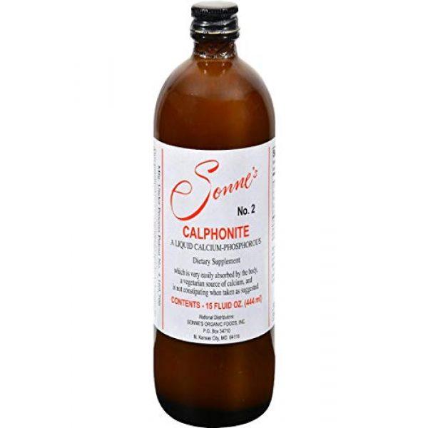 Sonne's Calcium Supplement 2 Sonne's Calphonite Liquid Calcium Phosphorus, 15 Fluid Ounce