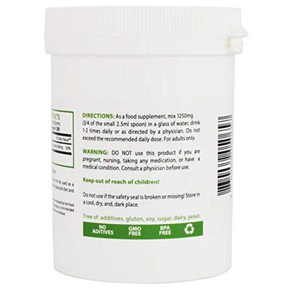 Heiltropfen Calcium Supplement 3 Calcium Carbonate Powder, Pharmaceutical Grade, 0.55 lb - 250g, Highest Purity Limestone, Heiltropfen®