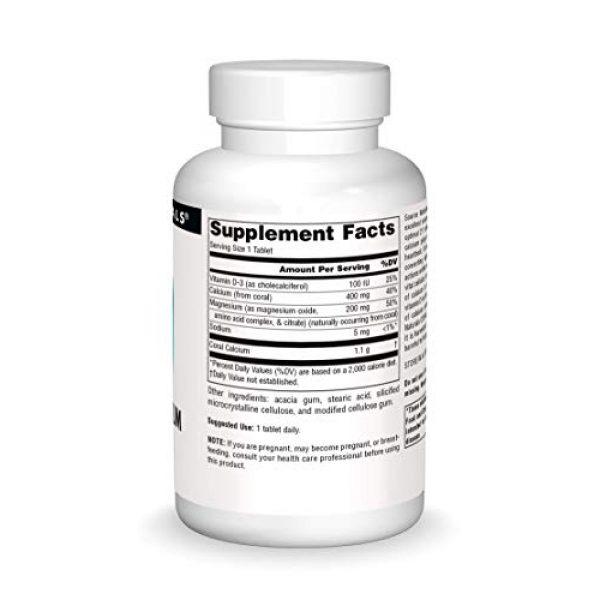 Source Naturals Calcium Supplement 3 Source Naturals Coral Calcium & Magnesium 600 mg Dietary Supplement - 45 Tablets