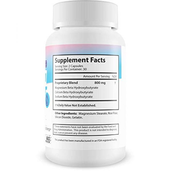 MX Keto Rapid Max Calcium Supplement 2 Keto Fast - BHB Keto Blast - Burn Fat Fast with Accelerated Ketosis Entry - by MX Keto Rapid Max - Feel The MX Keto Blast Effect of Calcium BHB Salts for max Rapid Keto Fat Burning and Weight Loss