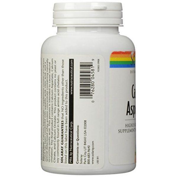 Solaray Calcium Supplement 4 Solaray Calcium Asporotate, Capsule (Btl-Plastic) 800mg   100ct