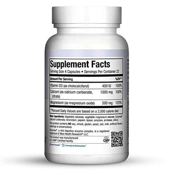 Maxi Health Calcium Supplement 2 MaMaxi Cal-Bone Support-Calcium, Magnesium, D3-90 Capsules-Kosher