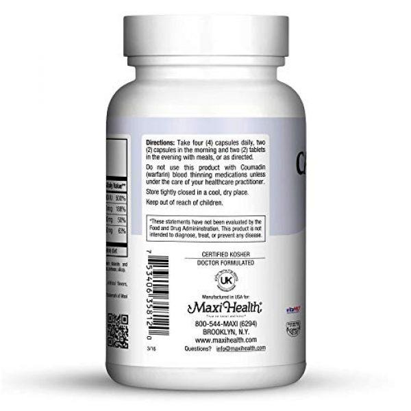 Maxi Health Calcium Supplement 3 Maxi Health Cal Mag K-d, 120 Count