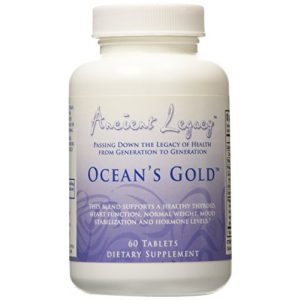 Ancient Legacy Calcium Supplement 1 ANCIENT LEGACY OCEANS GOLD - 60 CAPLETS