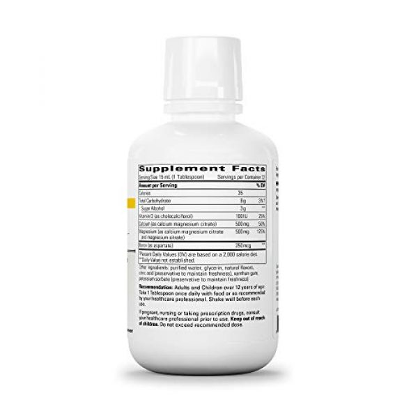 Integrative Therapeutics Calcium Supplement 2 Integrative Therapeutics - Liquid Calcium Magnesium, 1:1 Ca/Mg Ratio - Bioavailable Mineral Forms - Berry Flavor - 16 fl oz