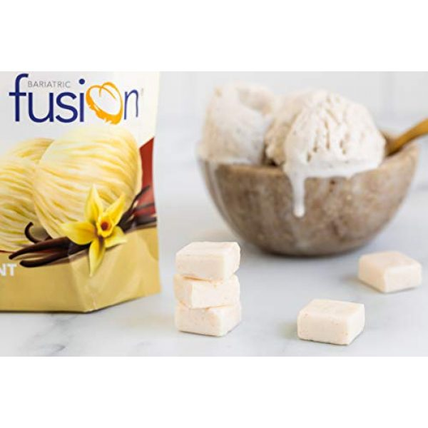 Bariatric Fusion Calcium Supplement 3 Bariatric Fusion 500mg Calcium Citrate & Energy Soft Chew Vanilla Crme Flavor for Bariatric Surgery Patients Including Gastric Bypass and Sleeve Gastrectomy, 60 Count, Sugar Free, Made in The USA