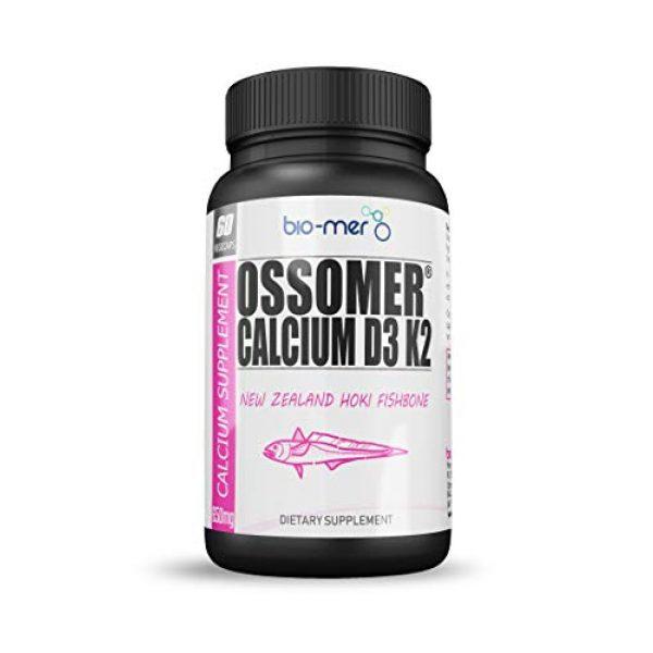 Bio-Mer Calcium Supplement 1 Ossomer® Calcium Supplement by Bio-Mer - 3 Pack - 180 Count - Replenish Your Body's Calcium Supplies and Ensure You Have Stronger Healthier Bones