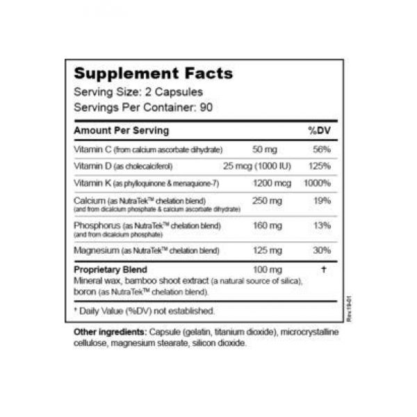Hardy Nutritionals Calcium Supplement 2 Macro Mineral Boost - High Intensity Calcium Supplement for Bone & Teeth Health with Vitamin C, D, K, Calcium, Phosphorus, and Magnesium, Ultra Absorbable