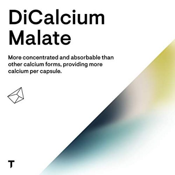 Thorne Research Calcium Supplement 4 Thorne Research - DiCalcium Malate - Concentrated Calcium Supplement with DimaCal for Bone Density Support - 120 Capsules