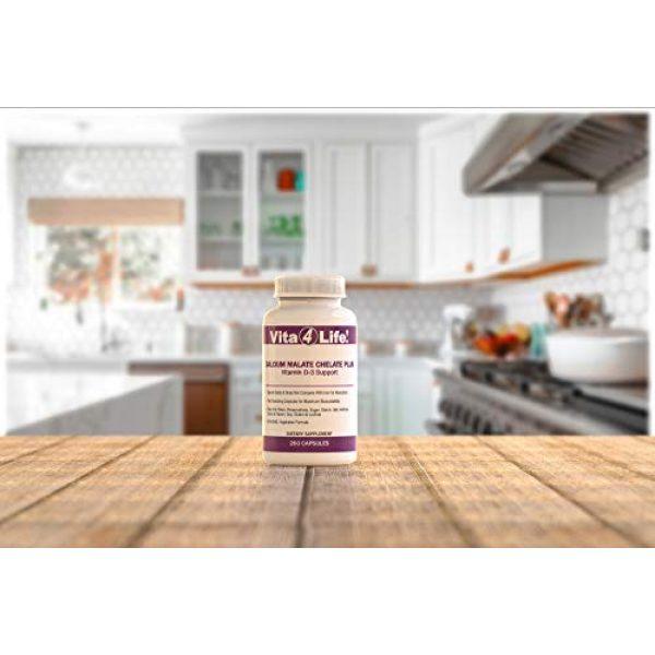 Vita4Life Calcium Supplement 2 Vita4life, 300 Mg, Calcium Malate Chelate 'Plus' Vitamin D3 Support - 260 Count