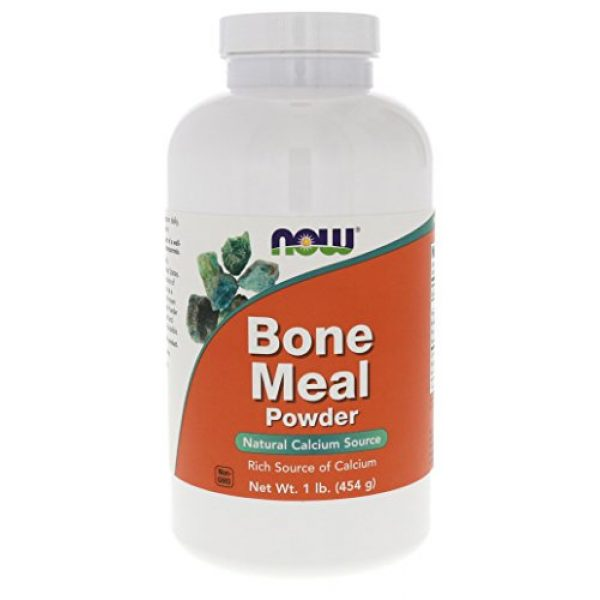 NOW Foods Calcium Supplement 1 Now Foods Bone Meal Powder 16 oz