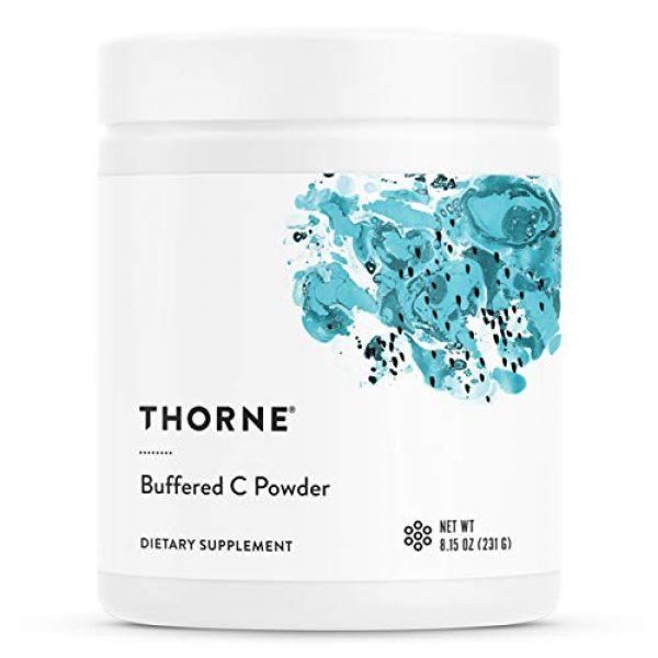 Thorne Research Calcium Supplement 1 Thorne Research - Buffered C Powder - Vitamin C (Ascorbic Acid) with Calcium, Magnesium, and Potassium - 8.15 oz