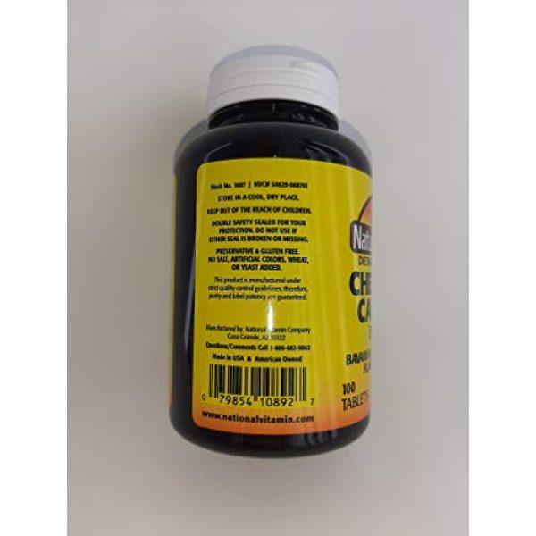 Nature's Blend Calcium Supplement 3 Nature's Blend Calcium Chewable Bavarian Cream 500 mg 100 Tabs