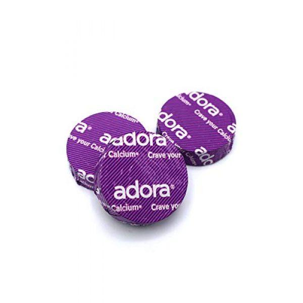 Adora Calcium Supplement 3 Adora Calcium Supplement Disk, Organic Dark Chocolate, 30 Count - 500 mg