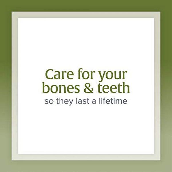 Natural Factors Calcium Supplement 5 Natural Factors, Calcium & Magnesium Citrate with Vitamin D3, Support for Bones and Teeth, 180 Tablets
