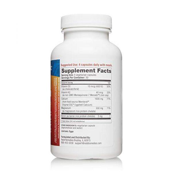 Redd Remedies Calcium Supplement 2 Redd Remedies, Bone Health Advanced, Supports Bone Mineral Density, 120 Capsules