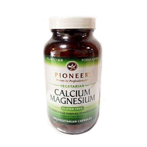 Pioneer Calcium Supplement 1 Pioneer - Calcium Magnesium, 180 veggie caps