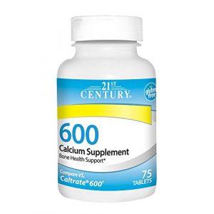 21st Century Calcium Supplement 1 21st Century Calcium Supplement, 600 mg, 75 Count