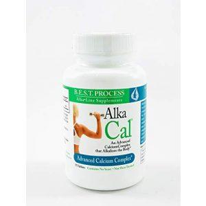 Morter HealthSystem Calcium Supplement 1 Alka-Cal (75 CT) Bone Tissue & Muscular Function Support   Microcrystalline Calcium Hydroxyapatite & Calcium Citrate for Bone Density & Muscle Retention   Morter HealthSystem B.E.S.T. Process Alkaline