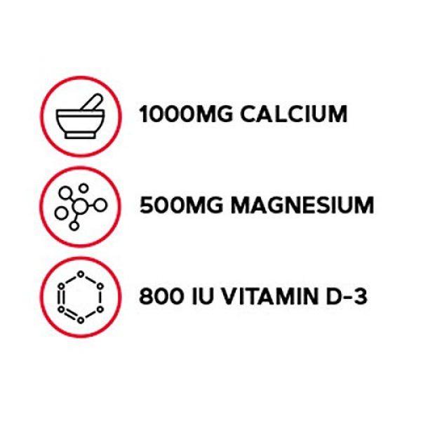 GNC Calcium Supplement 3 GNC Calcium Plus Magnesium & Vitamin D-3 1000 mg