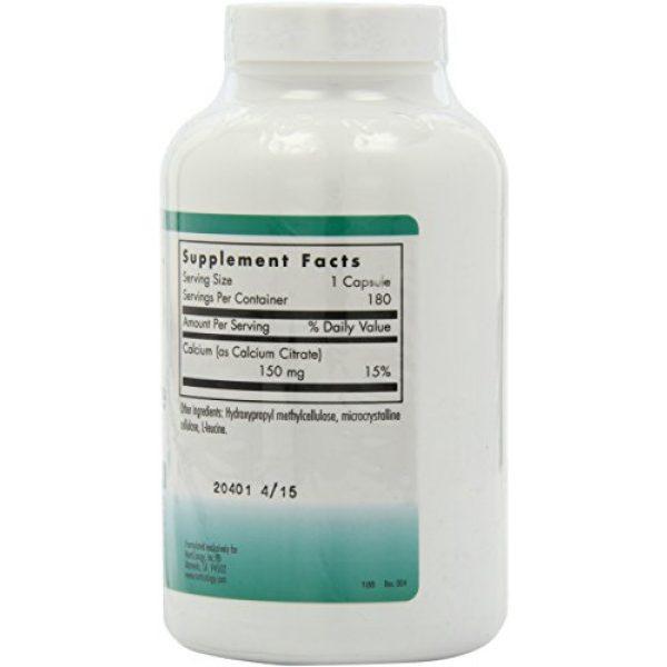 Nutricology Calcium Supplement 7 Nutricology Calcium Citrate, 150 mg, 180 Vegicaps