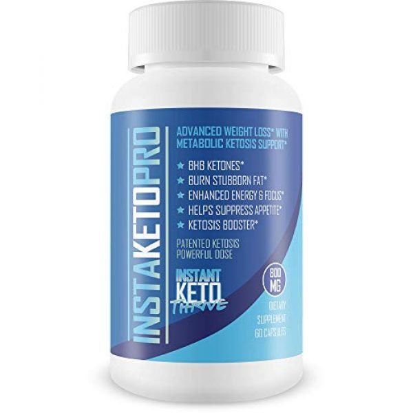 Instant Keto Thrive Calcium Supplement 1 InstaKeto Pro - Burn More Fat Faster Than Ever with Bhb Supported Ketosis - Lose Weight -Pure Bhb Exogenous Ketones Designed to Jump Start The Keto Diet - by Instant Keto Thrive