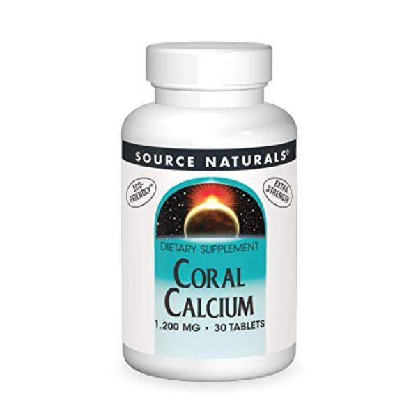 Source Naturals Calcium Supplement 1 Source Naturals Coral Calcium 1200 Mg, 30 Tablets