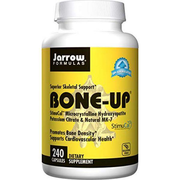 Jarrow Formulas Calcium Supplement 1 Jarrow Formulas Bone-up, Promotes Bone Density, 240 Capsules