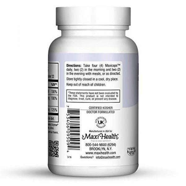 Maxi Health Calcium Supplement 3 MaMaxi Cal-Bone Support-Calcium, Magnesium, D3-90 Capsules-Kosher