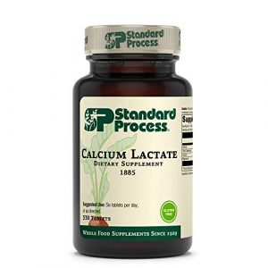 Standard Process Calcium Supplement 1 Standard Process Calcium Lactate - Immune Support and Bone Strength - Bone Health and Muscle Supplement with Magnesium and Calcium - 330 Tablets