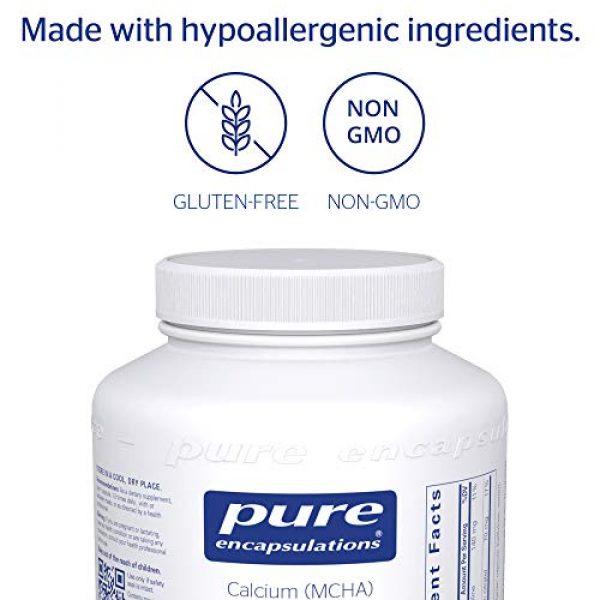 Pure Encapsulations Calcium Supplement 4 Pure Encapsulations - Calcium MCHA with Magnesium - Hypoallergenic Dietary Supplement for Bone Support - 180 Capsules