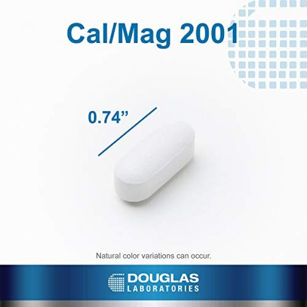Douglas Labs Calcium Supplement 4 Douglas Laboratories - Cal/Mag 2001 (Calcium Two to One) - with Magnesium and Other Nutrients to Support Healthy Bone Structure - 180 Tablets