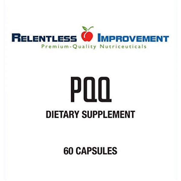 Relentless Improvement Calcium Supplement 2 Relentless Improvement PQQ No Silicon Dioxide No Magnesium Stearate No Added Calcium