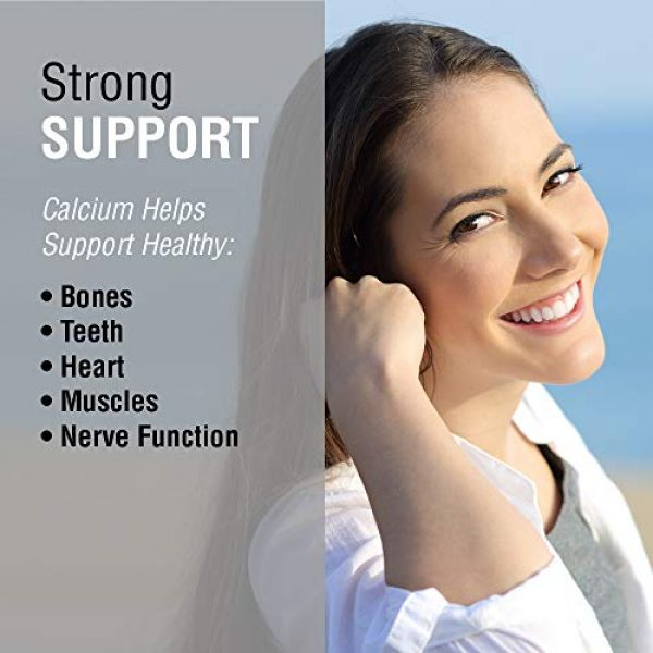 Solaray Calcium Supplement 3 Solaray Calcium Citrate Capsules, 1000mg, 120 Count