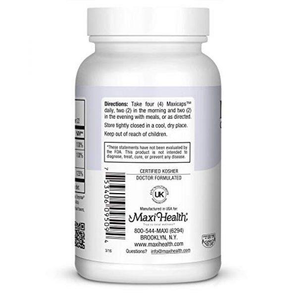 Maxi Health Calcium Supplement 5 Maxi Cal Calcium Magnesium D3 Complex 90 Count Bottle