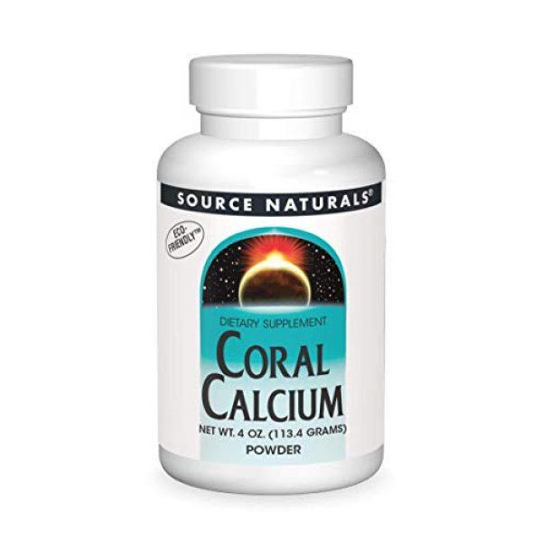 Source Naturals Calcium Supplement 1 Source Naturals Coral Calcium Powder, 4 Ounce
