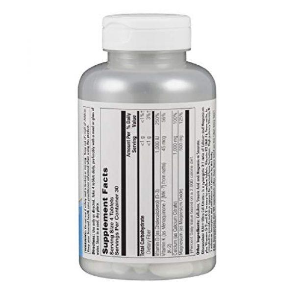 KAL Calcium Supplement 2 Kal Ultra Calcium Citrate Plus Tablets, 120 Count