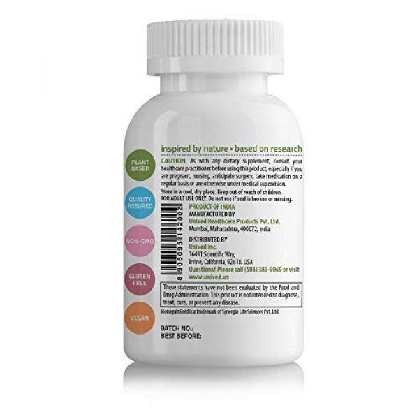 Unived Calcium Supplement 4 Unived CalDveg Algae Calcium Magnesium & 73 Trace Minerals | Plant Based Vitamin D3 (Vitashine) | Vitamin K2-7 (MenaquinGold) | Vitamin C (Acerola) | Plant-Based Bone Health Supplement | 60 Vegan Caps