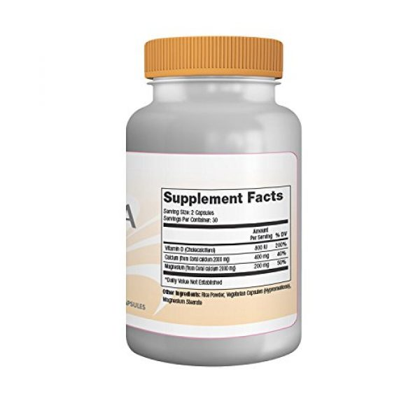 Progressive Health Calcium Supplement 2 Coral Calcium with Magnesium and Vitamin D - Acktiva Coral Calcium Supplement Can Help You Feel Great by Getting Rid of Aches and Pains