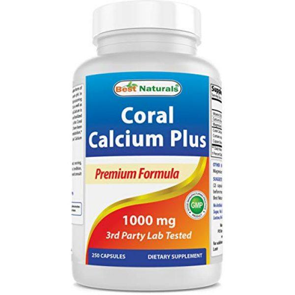 Best Naturals Calcium Supplement 1 Best Naturals Coral Calcium Plus 1000 mg 250 Capsules