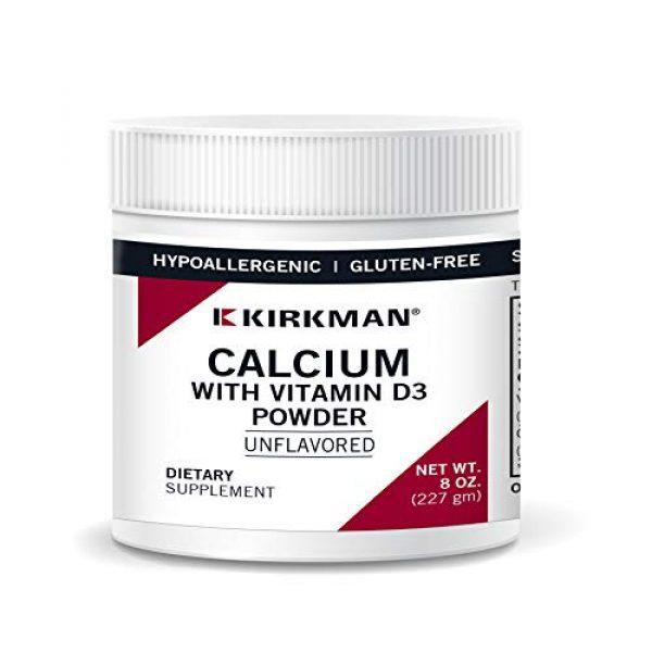 Kirkman Calcium Supplement 1 Calcium w/D3 Hypo Unflavored Powder 8oz