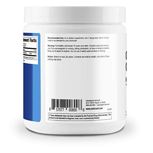Nutricost Calcium Supplement 4 Nutricost Calcium Carbonate Powder 500 Grams