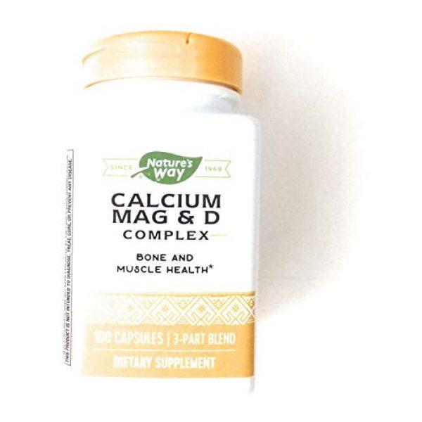 Nature's Way Calcium Supplement 1 Nature'S Way Calcium Magnesium & Vit D 100 Cap